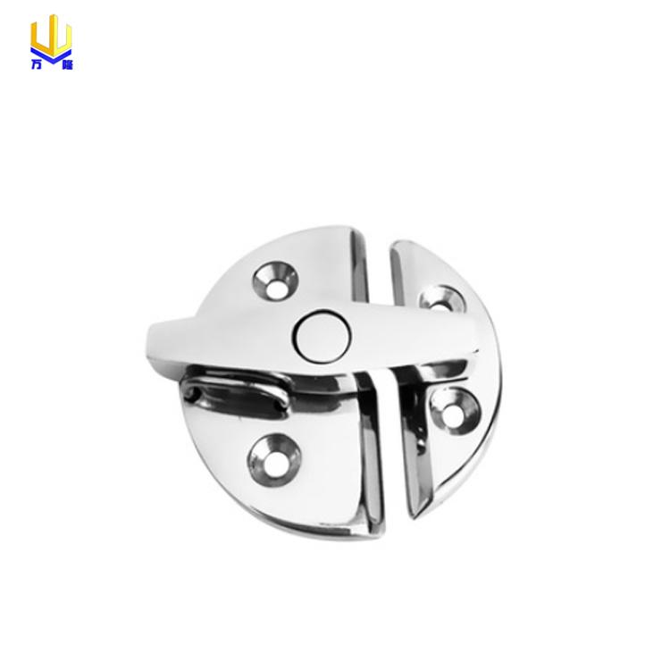 stainless steel mirror polish hinge bracket