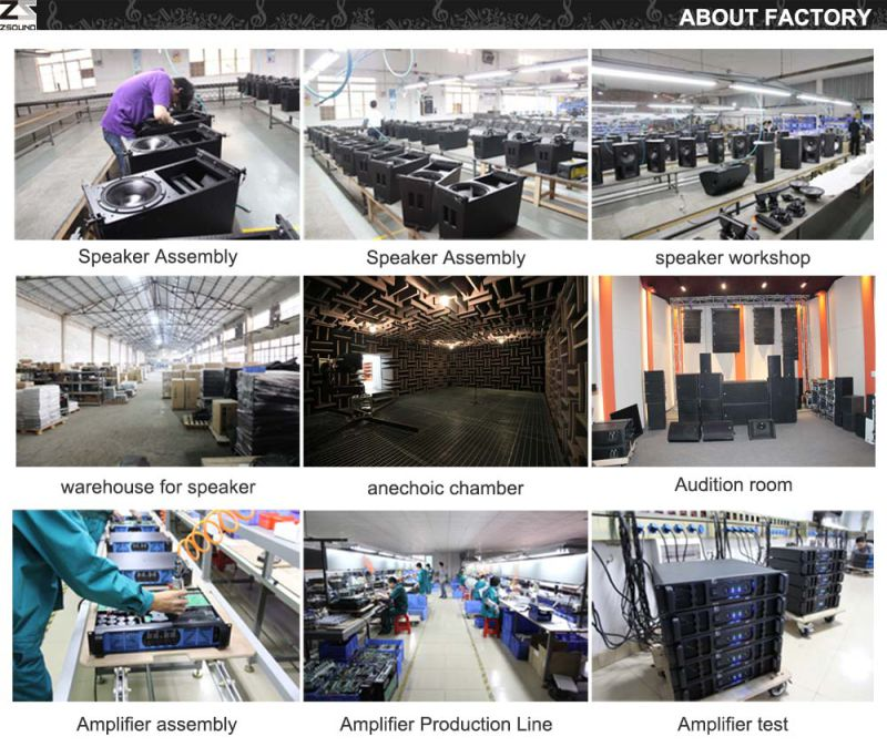 Zsound PRO Audio Double 12'' Line Array Sound System