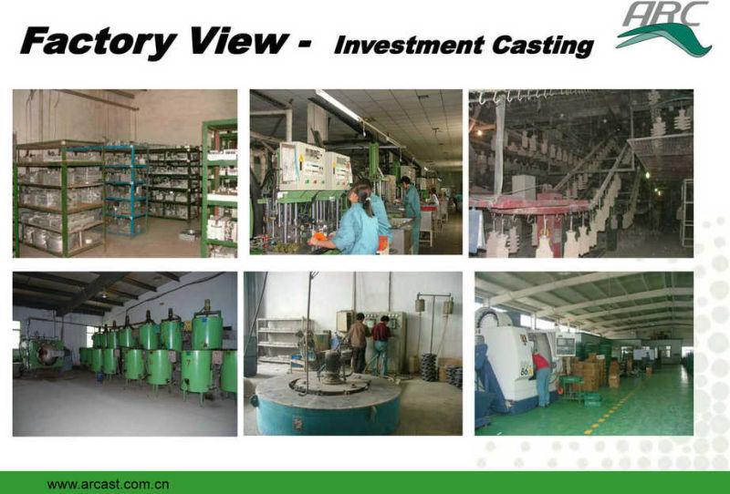 OEM Stainless Steel Investment Casting Valve Body