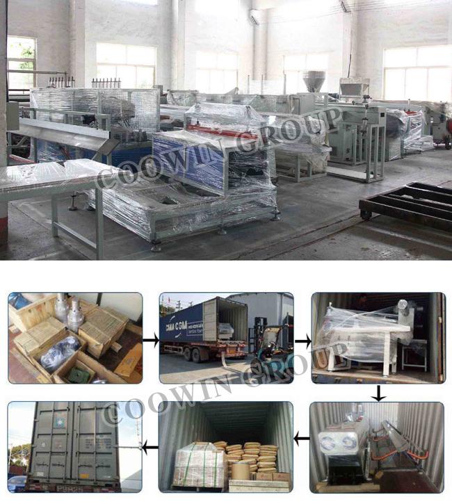 High Quality PVC/PE/PP Wood Plastic Extrusion Line