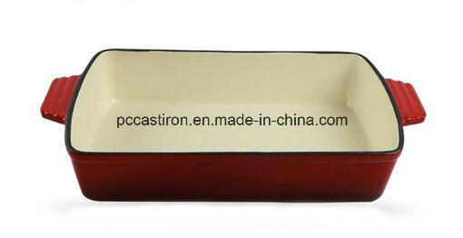 Enamel Cast Iron Baking Dish Pan Manufacturer From China