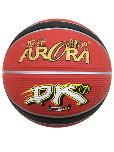 High Quality & 12 Panels Rubber Basketball