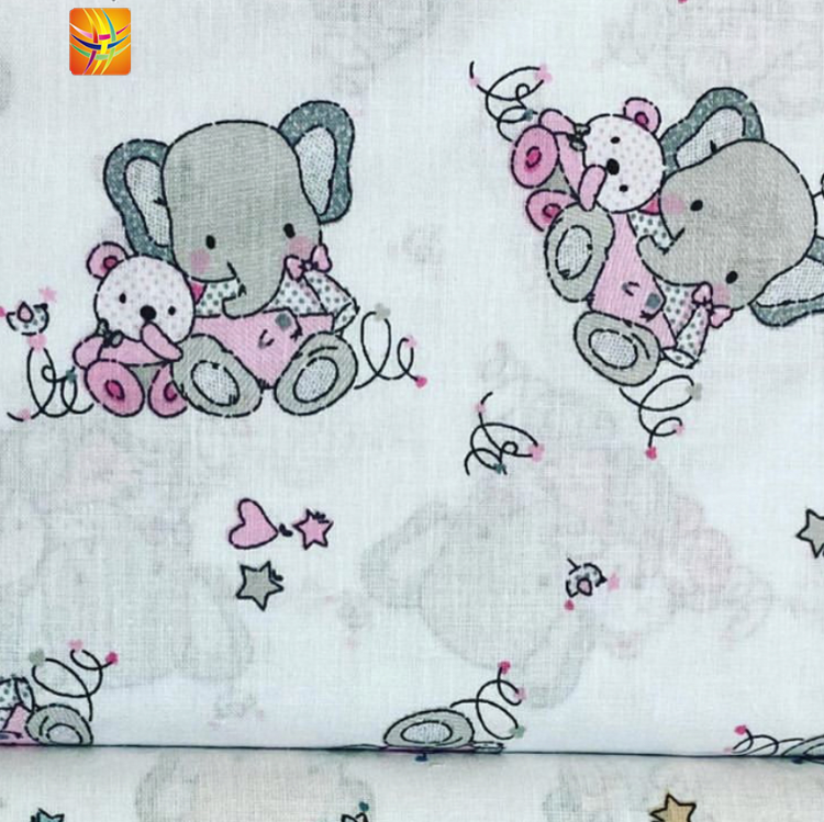 Digital Print Soft Cotton Fabric