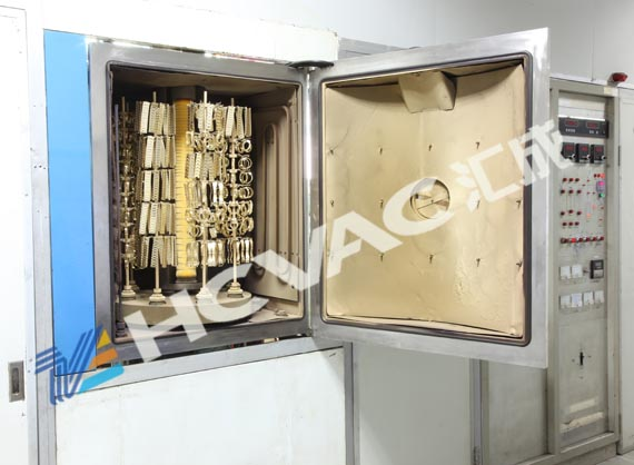 Hcvac Stainless Steel Cookware Spoons Cutlery PVD Gold Vacuum Metallizing Machine