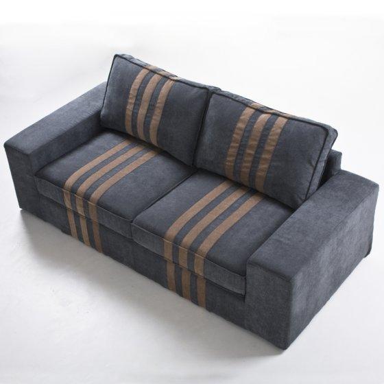 Jacquard Linen Decorative Printed 100% Polyester Sofa Fabric