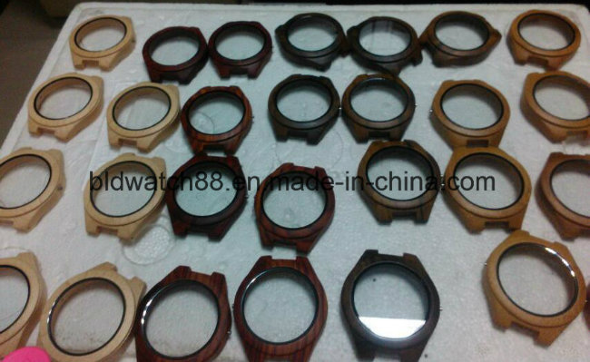 Wholesale Quality Handcraft Wooden Wrist Watch with Custom Logo
