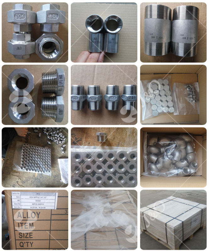 Industrial Stainless Steel Reducing Socket with 150lbs