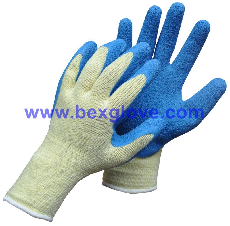100% Polyester Liner, Latex Coated, Garden Glove