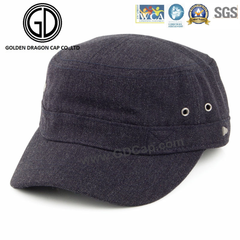 Top Quality Casual Style Black Blue Brown Military Cap