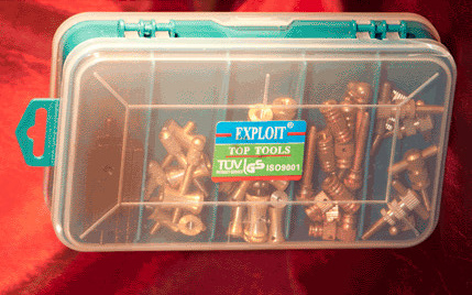 Two-Tier Tattoo Machine Repair Parts Kit