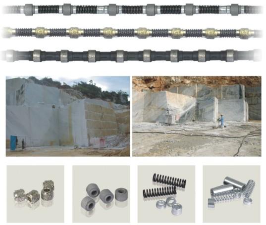 Jdk Diamond Wire Saw Diamond Tools for Marble Quarry
