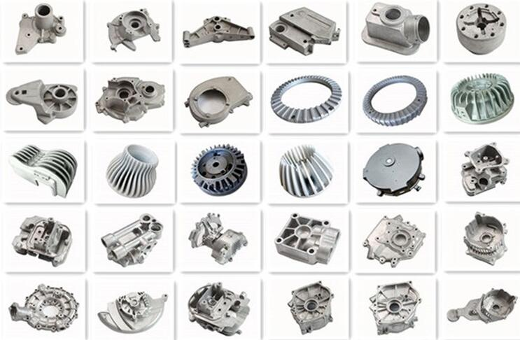 ISO9001 Stand OEM Precision Aluminum Injection Die Casting