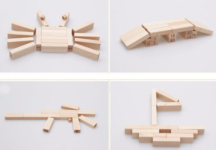 dice wooden toy