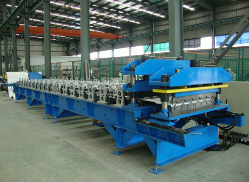 Manufacturer Price Glazed Tile Roof Roll Forming Machine