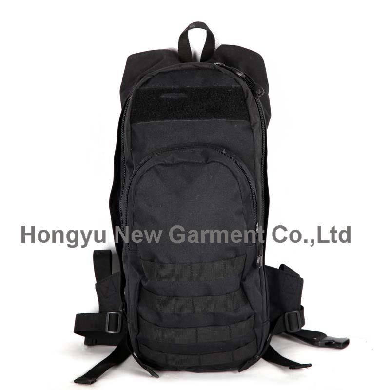 Factory Fashion Black Molle Sports Backpack Knapsack (HY-B084)