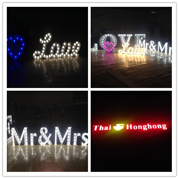 Wholesale 2015 New Design High Quality Vacuum Forming LED Acrylic Letter Sign