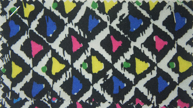 900d Polyester Printed Fabric with PU Coating