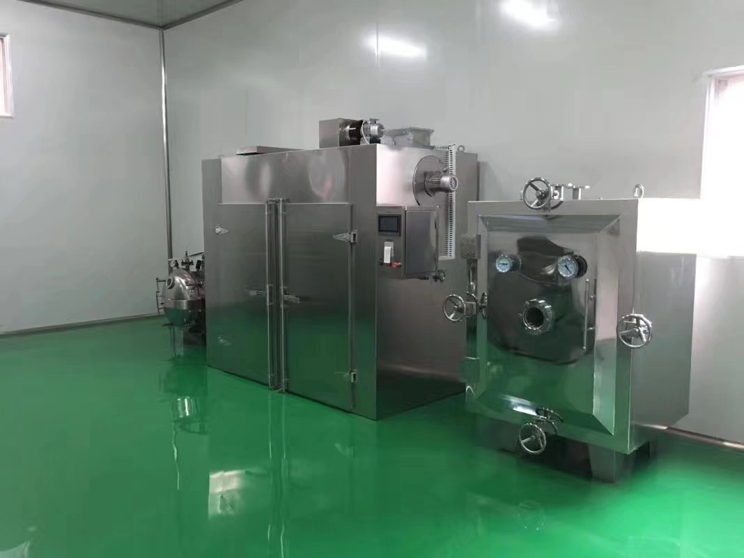 Low Temperature Vacuum Tray Dryer