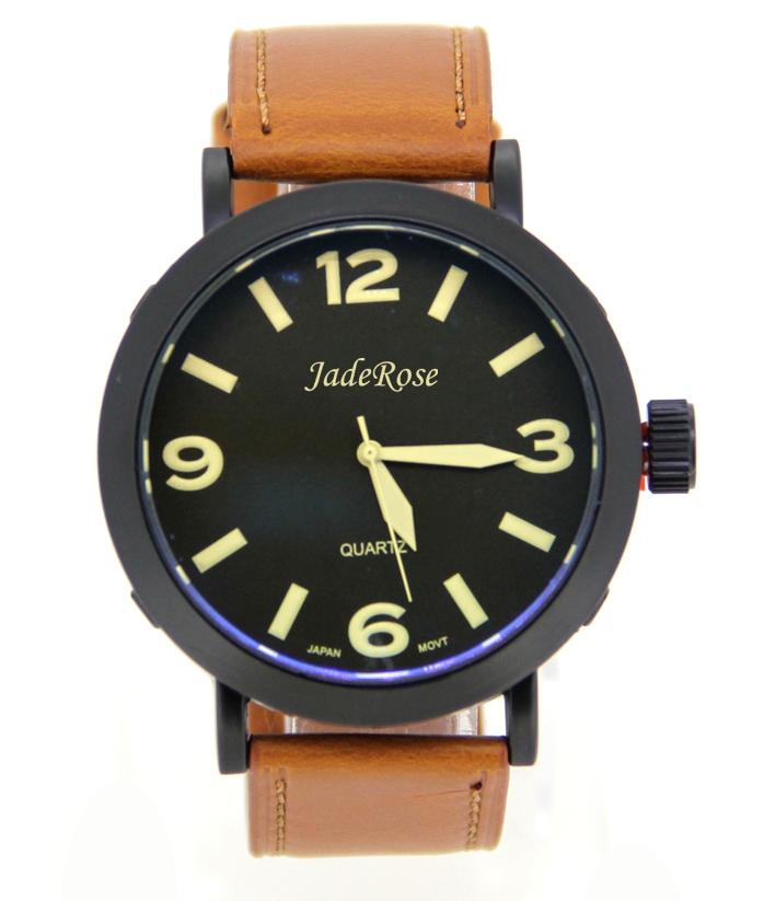 New Fashion Leather Quartz Watches