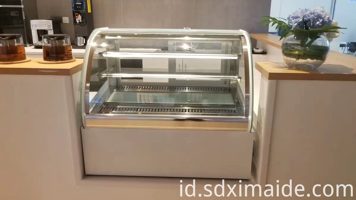Glass Top Display Freezer