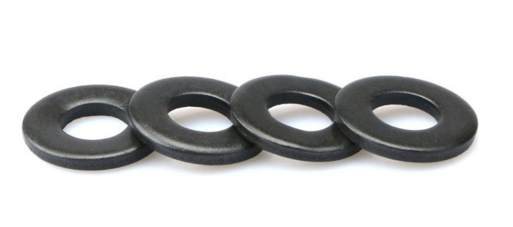 DIN125 black oxide Stainless steel Plain washers