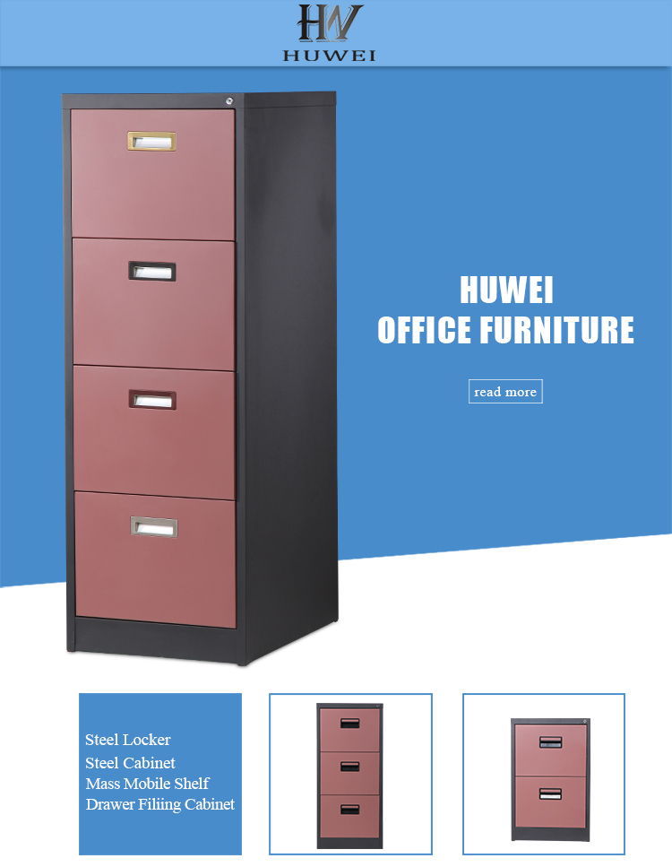 vertical 4 drawer filing cabinet