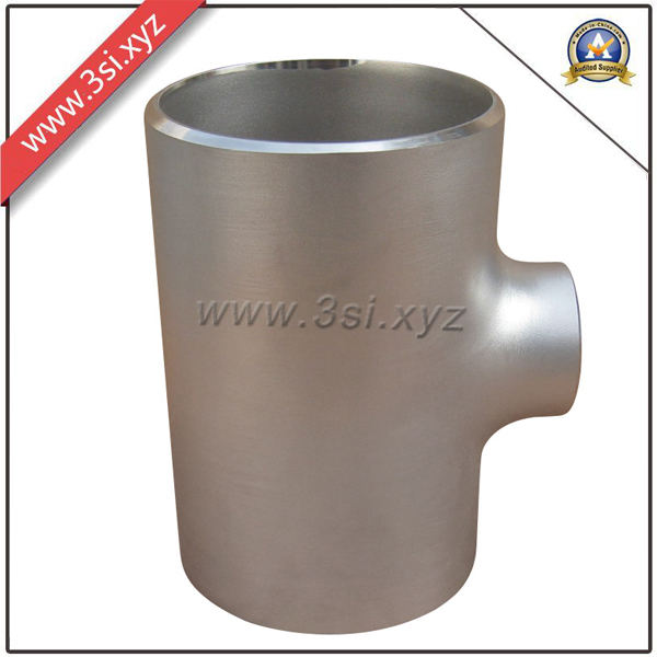 ANSI B 16.9 Seamless Stainless Steel Bw Reducing Tee (YZF-L102)