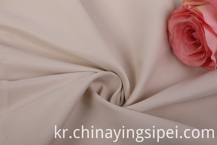 Polyester patterns plain cotton fabrics for clothing