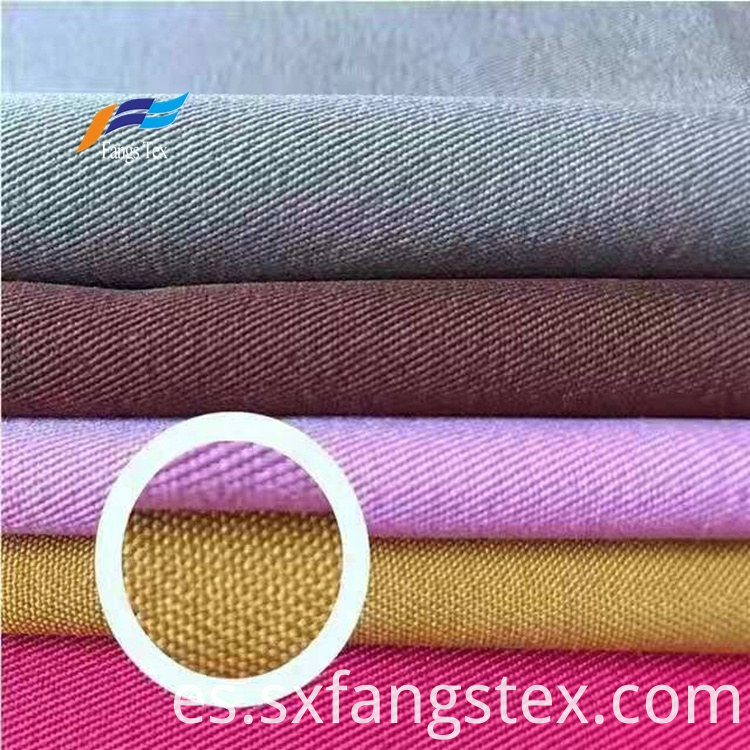 200D Polyester Twisted Four-Sided Bullet Twill Ladies Fabric