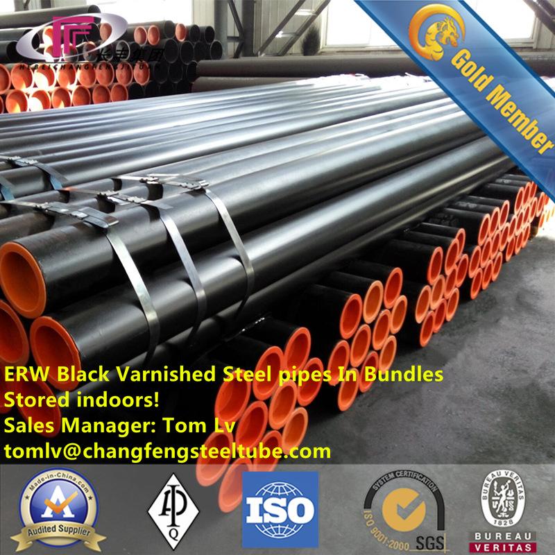 Hot Rolled Ms Welded Steel Pipe & ERW Steel Pipe E355