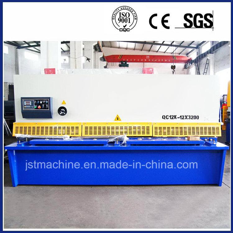 Hydraulic Metal Shear Machine for Steel Plate Sheet (QC12Y-12X3200)