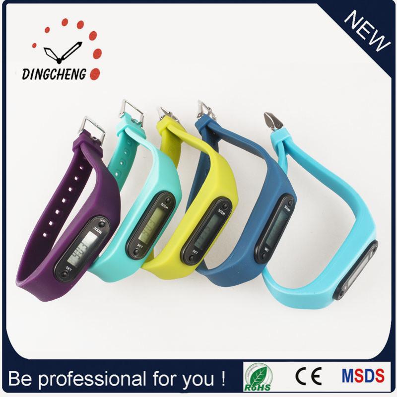 Mini Sport Watch Pedometer Wristwatch Digital Watches (DC-002)