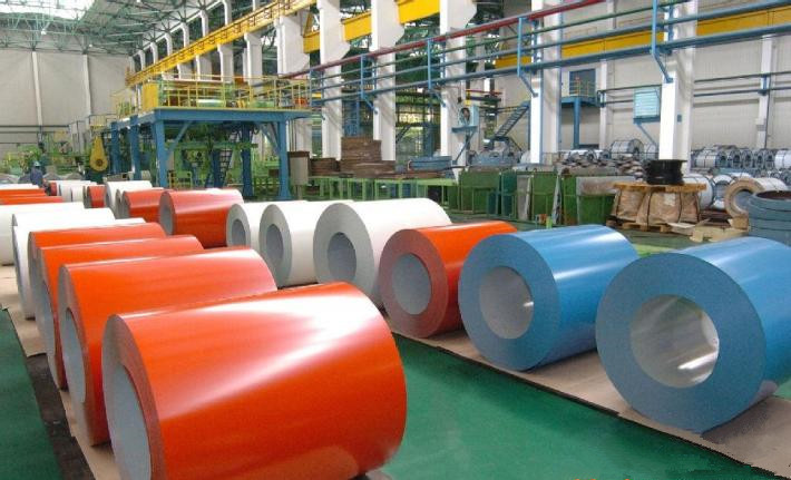 Orange Color Steel Coil for Building Roof (SC-003)