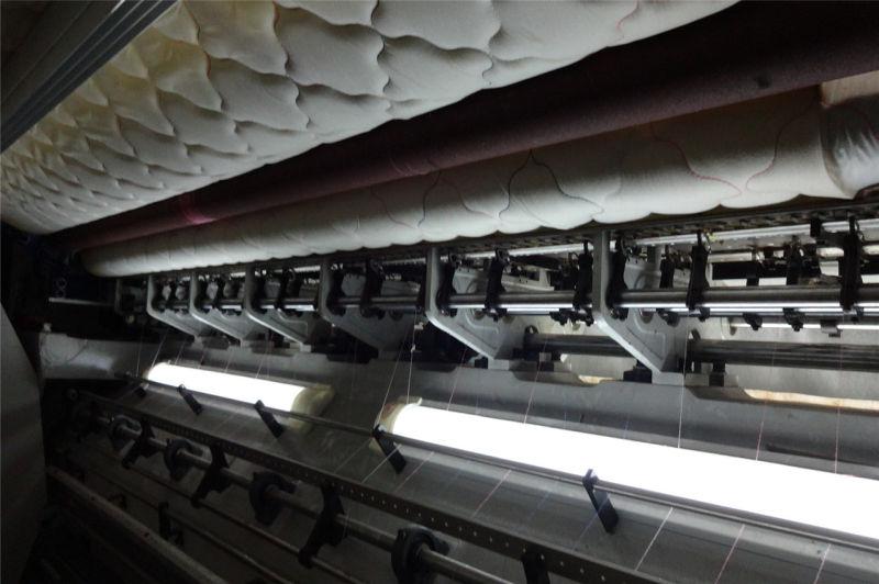 High Speed Shutleless Chain Stitch Multi-Needle Quilting Machine for Advanced Mattress 1200rmp