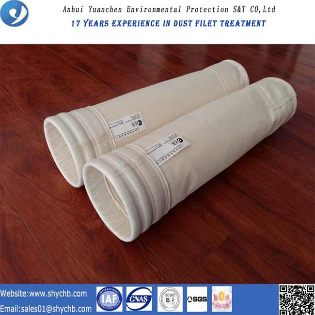 Dust Collector PPS Nonwoven Filter Bag for Mix Asphalt Plant