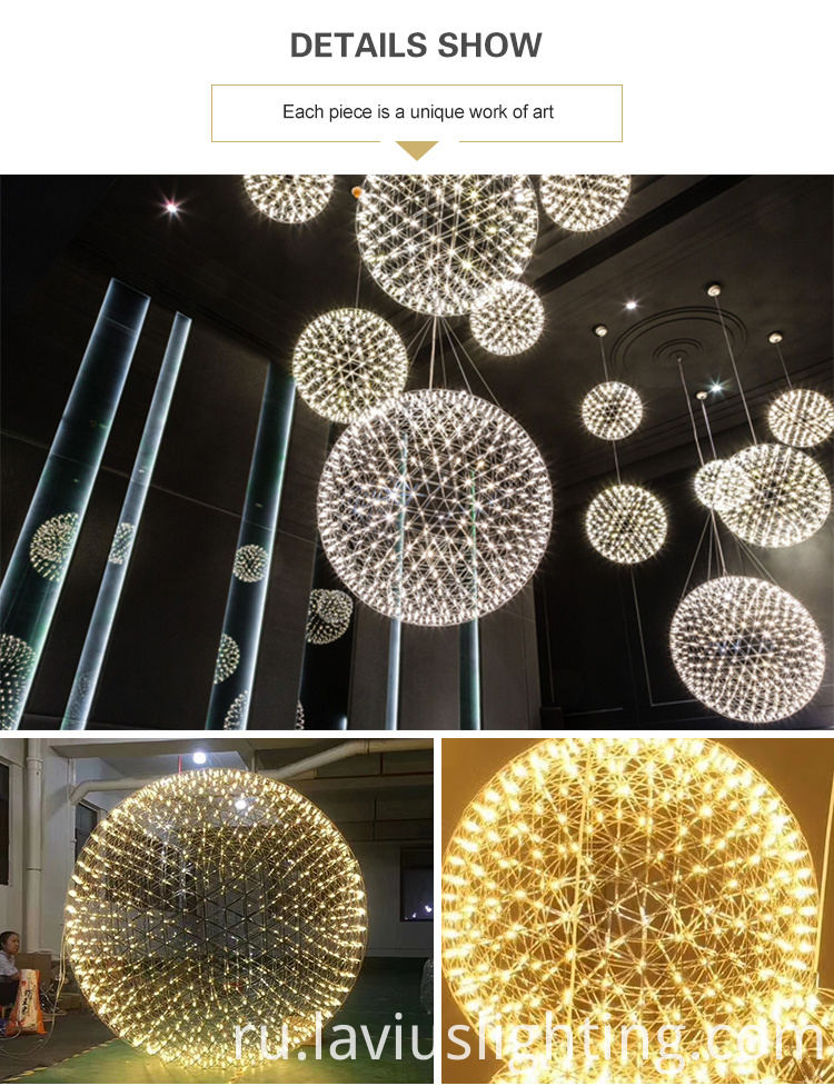 hotel lobby cpendant lamp