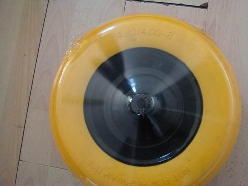 3.50-8 PU Foam Wheel