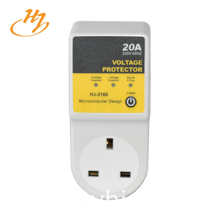 UK Type Single Phase Power Voltage Protector