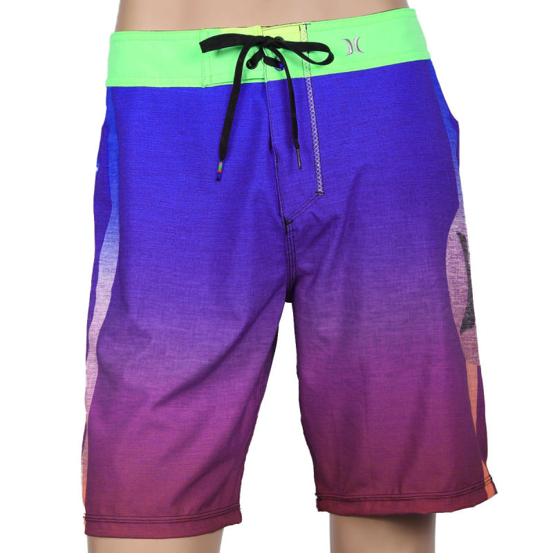 Brand Quality Sublimation Surf Shorts Manufacturer 4 Way Stretch Custom Board Shorts