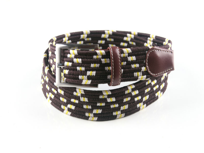 New Fashion Ployester Elastic Braided Belts for Jeans