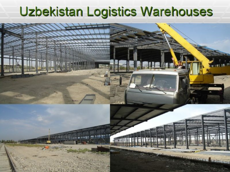 Light Steel Structure Warehouse Steel Frame
