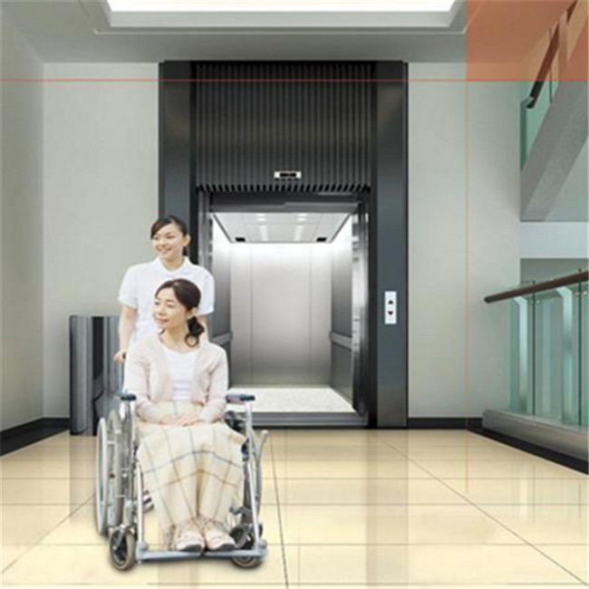 1600kg standard size medical hospital Elevator