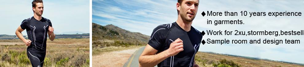 Nylon Polyester Sport Seamless Thermal Warm Underwear for Man