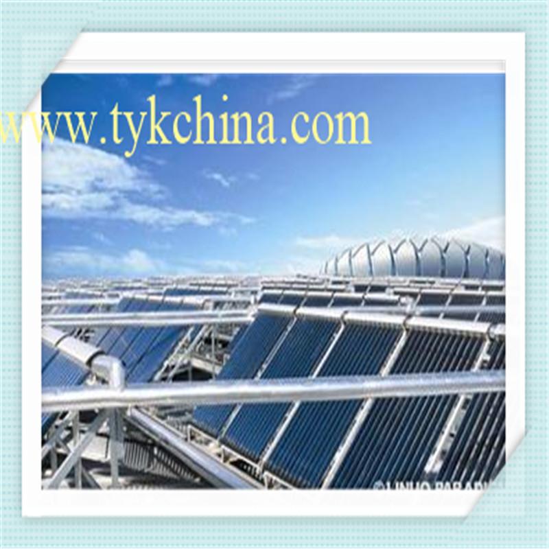 Cooper Heat Pipe Solar Collector