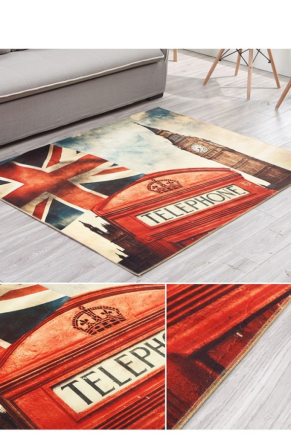 3D Print Door Mat, New Design Polyester Digital Printed Door Mat,