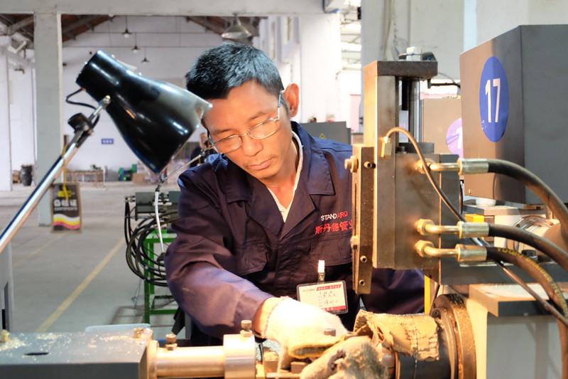 Male Nipple Gas Fitting NPT Thread