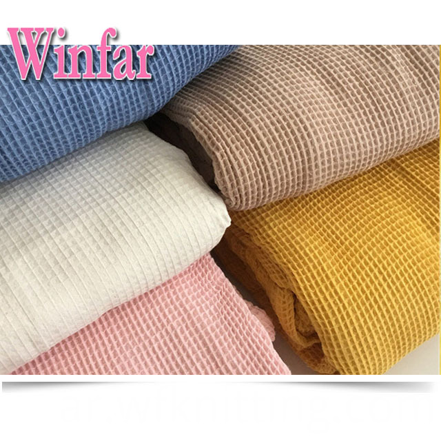 Thermal Waffle Knit Fabric