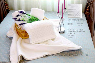 Custom White Terry Cotton Hotel Embroider Face Towels Manufacture