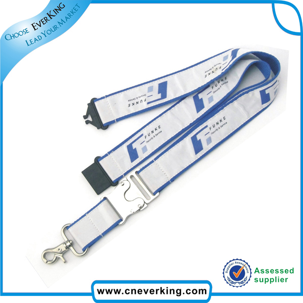 Polyester Printed Lanyard with Bottle Opener