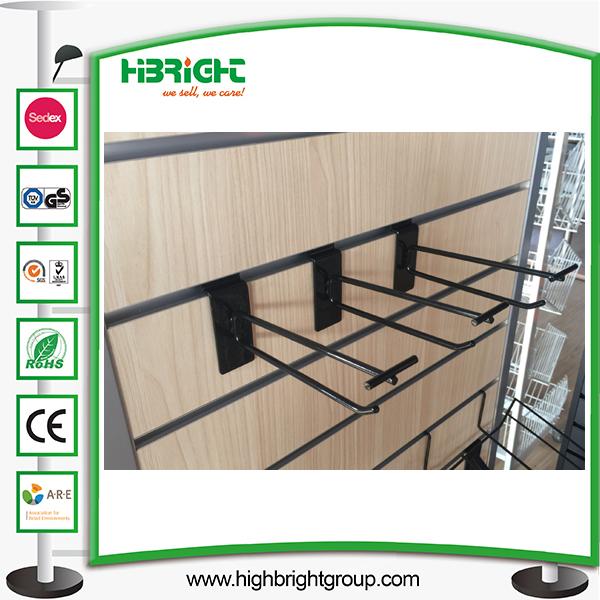 Retail Slat Wall 6 Inch Scanner Hook